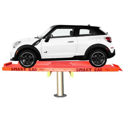 Hidrolik Lift  Cuci Mobil MINI H-Track 1,5 M