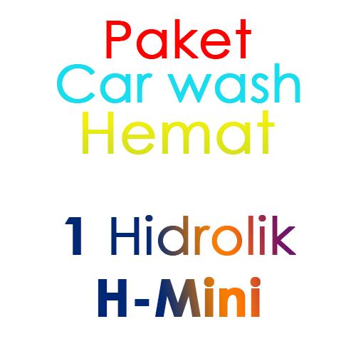 Paket Cuci Mobil Hemat 1 Hidrolik Lift tipe H-Mini
