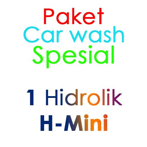 Paket Cuci Mobil Spesial 1 Hidrolik Lift tipe H-Mini