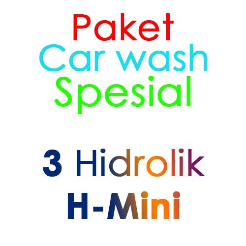 Paket Cuci Mobil Spesial 3 Hidrolik Lift tipe H-Mini