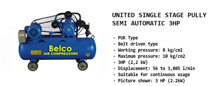 kompresor udara belco automega 3 pk