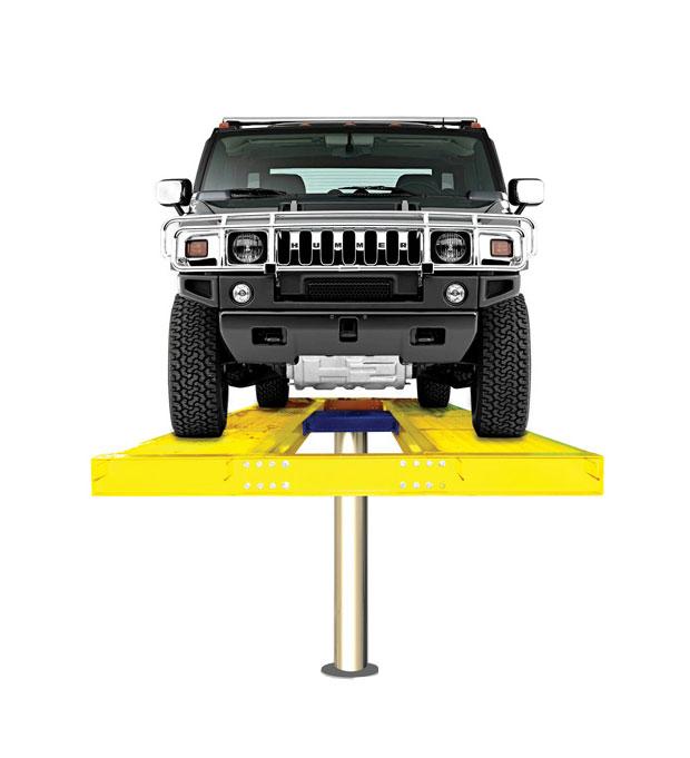 Hidrolik Lift cuci mobil H Spandex (meja atas lantai)