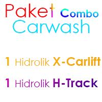 Paket MIX Cuci Mobil 1 Hidrolik X dan 1 Hidrolik H
