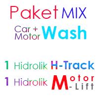 Paket MIX Cuci Mobil 1 Hidrolik H- Track dan 1 Hidrolik Motor