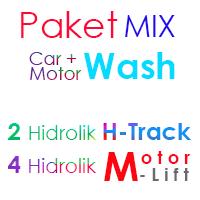 Paket MIX Cuci Mobil 2 Hidrolik H dan 4 Hidrolik Motor