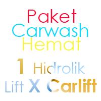 Paket Cuci Mobil Hemat 1 Hidrolik Lift tipe X