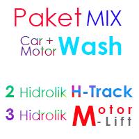Paket MIX Cuci Mobil 2 Hidrolik H dan 3 Hidrolik Motor