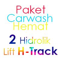 Paket Cuci Mobil Hemat 2 Hidrolik Lift H-Track