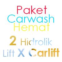 Paket Cuci Mobil Hemat 2 Hidrolik Lift tipe X