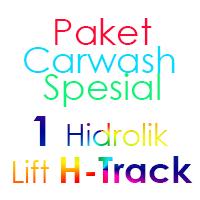 Paket Cuci Mobil Spesial 1 Hidrolik Lift H-Track