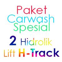Paket Cuci Mobil Spesial 2 Hidrolik Lift H-Track