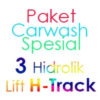 Paket Cuci Mobil Spesial 3 Hidrolik Lift H-Track