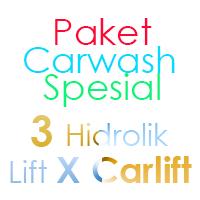 Paket Cuci Mobil Spesial 3 Hidrolik Lift tipe X