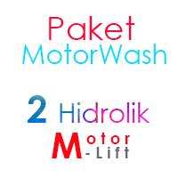Paket Cuci Motor 2 Hidrolik