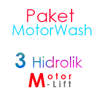 Paket Cuci Motor 3 Hidrolik