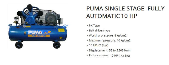 Kompresor Udara Puma 10 HP
