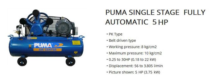 Kompresor Udara Puma 5 HP