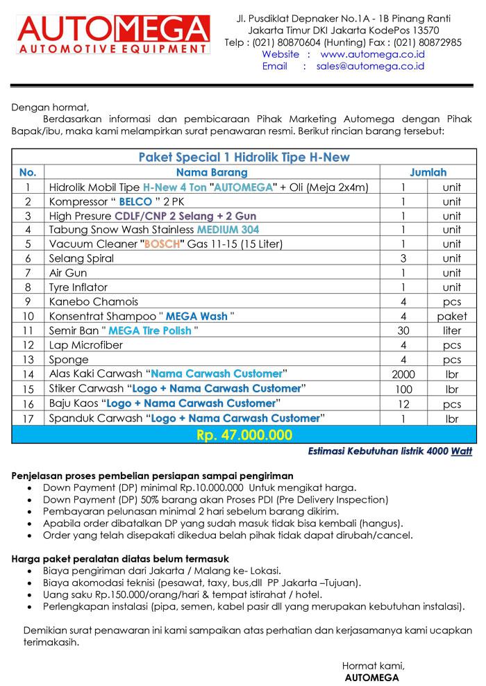 Paket-Special-2-Hidrolik-Lift-Cuci-Mobil-tipe-H-New