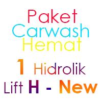 Paket Cuci Mobil Hemat 1 Hidrolik Lift H-New