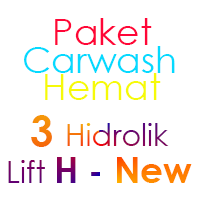 Paket Cuci Mobil Hemat 3 Hidrolik Lift H-New