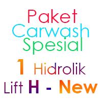 Paket Cuci Mobil Spesial 1 Hidrolik Lift H-New