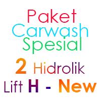 Paket Cuci Mobil Spesial 2 Hidrolik Lift H-New