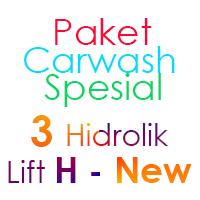 Paket Cuci Mobil Spesial 3 Hidrolik Lift H-New