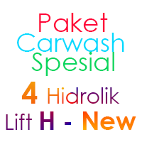 Paket Cuci Mobil Spesial 4 Hidrolik Lift H-New