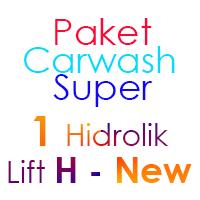 Paket Cuci Mobil Super 1 Hidrolik Lift H-New