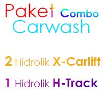 Paket MIX Cuci Mobil 2 Hidrolik X dan 1 Hidrolik H