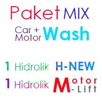 Paket MIX Cuci Mobil 1 Hidrolik H-New &  1Hidrolik Motor