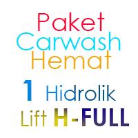 Paket Cuci Mobil Hemat 1 Hidrolik Lift Tipe H-Full