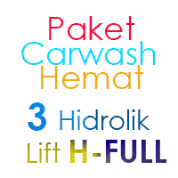 Paket Cuci Mobil Hemat 3 Hidrolik Lift H FULL