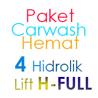 Paket Cuci Mobil Hemat 4 Hidrolik Lift H FULL