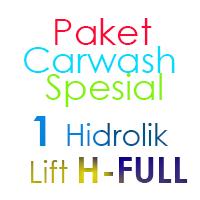 Paket Cuci Mobil Spesial 1 Hidrolik Lift H FULL