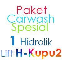Paket Cuci Mobil Spesial 1 Hidrolik Lift tipe H-Buterfly