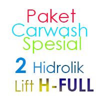 Paket Cuci Mobil Spesial 2 Hidrolik Lift H FULL