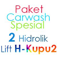 Paket Cuci Mobil Spesial 2 Hidrolik Lift tipe H-Buterfly