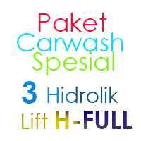 Paket Cuci Mobil Spesial 3 Hidrolik Lift Tipe H-Full