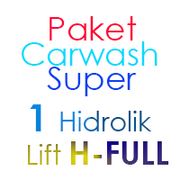 Paket Cuci Mobil Super 1 Hidrolik Lift H FULL