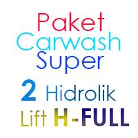 Paket Cuci Mobil Super 2 Hidrolik Lift H FULL