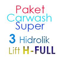 Paket Cuci Mobil Super 3 Hidrolik Lift H FULL