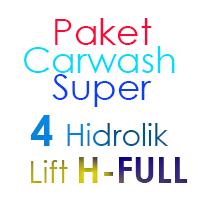 Paket Cuci Mobil Super 4 Hidrolik Lift H FULL