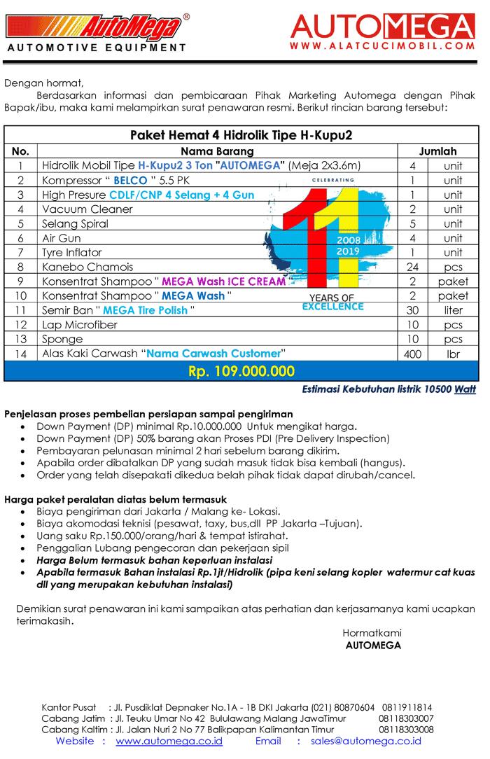 Paket-Hemat-4-Hidrolik-Lift-Cuci-Mobil-tipe-H-Kupu2