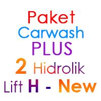 Paket Cuci Mobil Hemat PLUS 2 Hidrolik Lift H-New