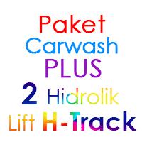 Paket Cuci Mobil Hemat PLUS 2 Hidrolik Lift H-Track