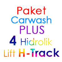 Paket Cuci Mobil Hemat PLUS 4 Hidrolik Lift H-Track