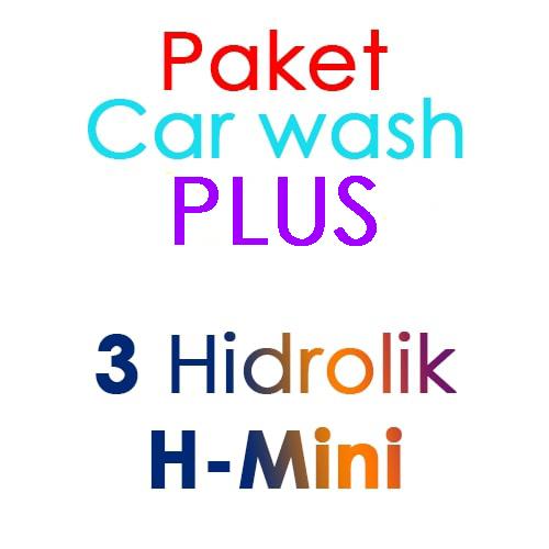 Paket Cuci Mobil Hemat PLUS 3 Hidrolik Lift tipe H-Mini