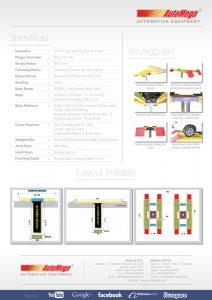 Hidrolik Lift cuci mobil H Spandex (meja atas lantai) 3