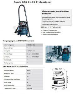 Vacuum cleaner Bosch gas 11-21